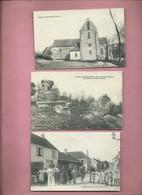5 CPA  -  Le Charmel - Loupeigne ( 2 )  -  Montpreux  -  Brécy - Otros Municipios