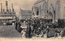 SAINT JEAN TROLIMON - Chapelle De Tronoen Un Jour De Pardon - Très Bon état - Saint-Jean-Trolimon
