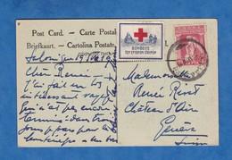 CPA - SALONIQUE - Etiquette Croix Rouge Grecque ? Greek Red Cross ? - WW1 - 1918 1919 Soldat Guerre - Grèce