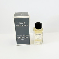 Miniatures De Parfum    Pour Monsieur De CHANEL   EDT   + Boite - Mignon Di Profumo Uomo (con Box)