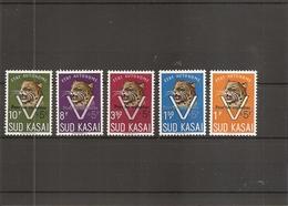 """SudKasai ( 20A/24A XXX -MNH - Série 20/24 Surchargée """"Pour Les Orphelins) - Sud Kasai"""