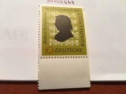 Germany R. Schumann Composer 1956 Mnh - [7] Federal Republic