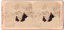 Stereo-Fotografie Strohmeyer & Wyman, New York, Amid Glistening Boughs They Dream Of Love - Stereo-Photographie
