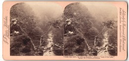 Stereo-Photo Jarvis, Washington D.C., Ansicht Callender / Schottland, Lady Of The Lake - Stereo-Photographie