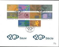 Belgium 2002 Mi 3171-3180 FDC ( FDC LZE3 BLG3171-3180 ) - Organisations