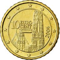 Autriche, 10 Euro Cent, 2006, SUP, Laiton, KM:3085 - Autriche