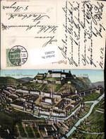 620883,Glatz Aus Der Vogelschau 1737 Klodzko Schlesien - Schlesien