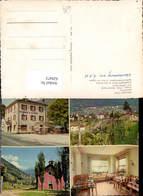 620472,Mehrbild Ak Lugano Albergo Banfi Bironico Bellinzona-Lugano - TI Tessin