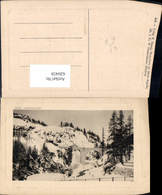 620459,St Moritz Engadin Innschlucht Im Winter - GR Graubünden