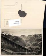 620457,Foto Ak La Vallee De Salvan Les Aiguilles Rouges Et Le Mont Blanc - VS Wallis