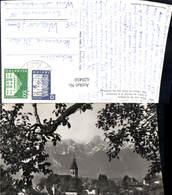 620450,Foto Ak Thun U. D. Stockhorn L Eglise De Thoune Et Le Stockhorn - BE Bern
