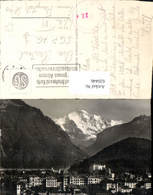 620446,Foto Ak Interlaken Und Jungfrau - BE Bern