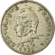 Monnaie, Nouvelle-Calédonie, 20 Francs, 1977, Paris, TB+, Nickel, KM:12 - Nieuw-Caledonië