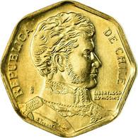 Monnaie, Chile, 5 Pesos, 2006, Santiago, SPL, Aluminum-Bronze, KM:232 - Chile
