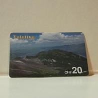 Phonecard - Switzerland - Teleline - 20 Francs - Zwitserland
