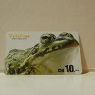 Phonecard - Switzerland - Teleline - 10 Francs - Zwitserland