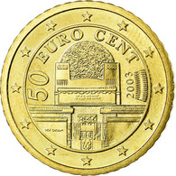 Autriche, 50 Euro Cent, 2003, SPL, Laiton, KM:3087 - Autriche