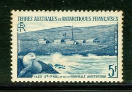 Îles Saint-Paul Et De La Nouvelle Amsterdam. Timbre Scott Stamp # 4.  T.A.A.F. (2284) - Terres Australes Et Antarctiques Françaises (TAAF)