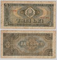 Banknote 3 Lei 1966 -Romania - Romania