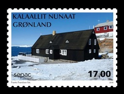 Greenland 2019 Mih. 828 SEPAC. Old Residential Buildings. Poul Egede's House In Ilimanaq MNH ** - Groenland