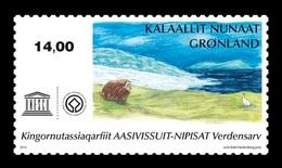 Greenland 2019 Mih. 829 UNESCO World Heritage. Nipisat Island MNH ** - Groenland