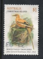 2018 CHRISTMAS ISLAND TROPIC YELLOW BIRD VERY FINE POSTALLY USED $1 Sheet STAMP - Christmas Island