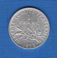 1  Fr  1898 Sup - France