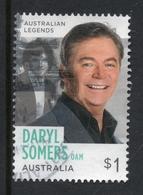 2018 AUSTRALIA LEGENDS DARYL SOMERS VERY FINE POSTALLY USED $1 Sheet STAMP - Oblitérés