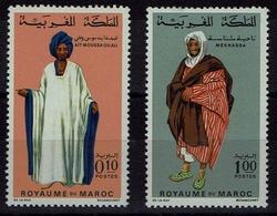 Maroc Marokko 1969- Trachten  Folk Costume - MiNr 661-662 - Kostüme