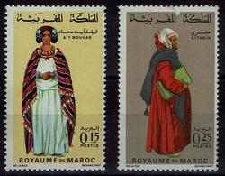 Maroc Marokko 1969- Trachten  Folk Costume - MiNr 656-657 - Kostüme