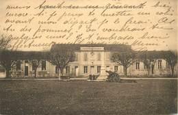 """CPA FRANCE 17 """"Salignac, La Mairie Et Les Ecoles"""" - Other Municipalities"""