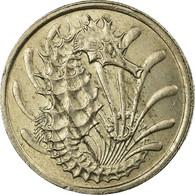 Monnaie, Singapour, 10 Cents, 1974, Singapore Mint, TB+, Copper-nickel, KM:3 - Singapur