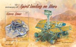 Sierra Leone 2019 Spirit Landing On Mars ,space   S201903 - Sierra Leone (1961-...)