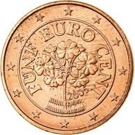 Autriche, 5 Euro Cent, 2005, SUP, Copper Plated Steel, KM:3084 - Autriche