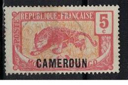 CAMEROUN      N° YVERT  :    87          OBLITERE     ( OB   03/61  ) - Cameroun (1915-1959)