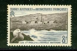 Îles Saint-Paul Et De La Nouvelle Amsterdam. Timbre Scott Stamp # 5.  T.A.A.F. (2285) - Terres Australes Et Antarctiques Françaises (TAAF)