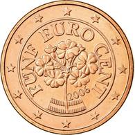 Autriche, 5 Euro Cent, 2006, SUP, Copper Plated Steel, KM:3084 - Autriche
