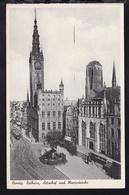 Danzig Rathaus, Artushof Und Marienkirche - Deutschland