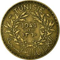 Monnaie, Tunisie, Anonymes, Franc, 1941, Paris, TTB, Aluminum-Bronze, KM:247 - Tunisie