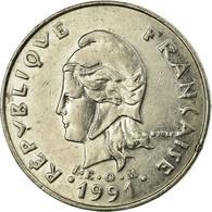 Monnaie, French Polynesia, 20 Francs, 1991, Paris, TTB, Nickel, KM:9 - Polynésie Française