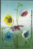 107.BHUTAN STAMP M/S MEDICINAL FLOWERS OF BHUTAN. MNH - Bhoutan