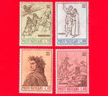 Nuovo - MNH - VATICANO - 1965 - 7º Centenario Della Nascita Di Dante Alighieri - Serie Completa - Ungebraucht
