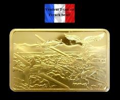 1 Lingot Plaqué OR ( GOLD Plated Bar ) - Aviation Allemande Deutsche Luftwaffe 1935 - Other Coins