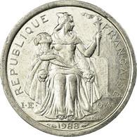 Monnaie, Nouvelle-Calédonie, Franc, 1988, Paris, TB, Aluminium, KM:10 - Nouvelle-Calédonie