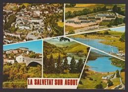 D 34 - LA SALVETAT SUR AGOUT - CPM Couleur Non Voyagée - Multi-Vues - Vue Sur Le Lac De La Raviège, Etc... - La Salvetat