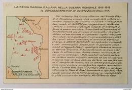 REGIA MARINA - BOMBARDAMENTO DI DURAZZO NV FP - Guerra 1914-18