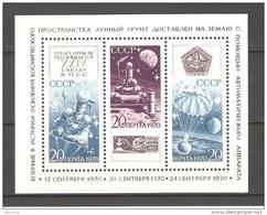RUSSIA/USSR 1970 ,S/S ,Space Project Luna-16 ,Sc 3801 ,MNH** - Russia & USSR