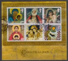 Great Britain 2005 Christmas Minisheet Used - 1952-.... (Elizabeth II)