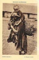 Missions: Salésiennes - Congo Belge - Congolais: Maman Et Bébé - Carte N° 6 Non Circulée - Missionen