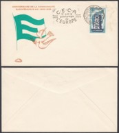 LUXEMBOURG 1958 EUROPA N°516 FDC (BE) DC-3734 - FDC